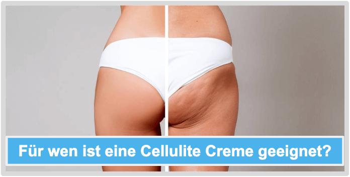 Cellulite Creme Anwender