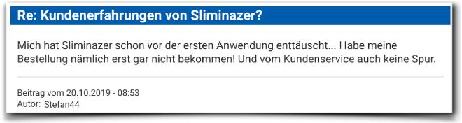 Sliminazer Bewertungen Erfahrungen Sliminazer