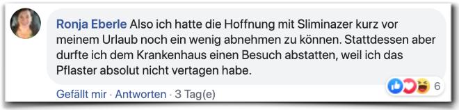 Sliminazer Kritik Bewertungen Facebook