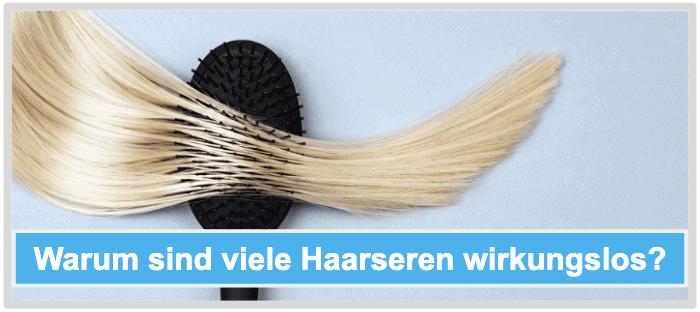 Haarserum Wirkung Wirkstoffe wirkungslos