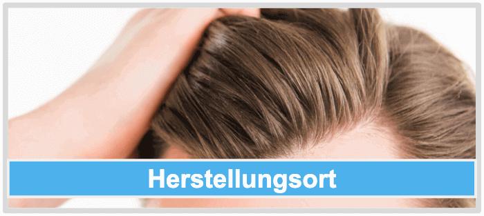 Haarwuchsmittel Herstellungsort