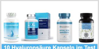 Hyaluronsäure Kapseln Test