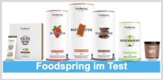 Titelbild Foodspring