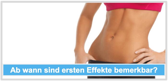 Bauchweggürtel Wirkung Effekt