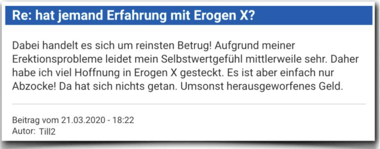 Erogen X Erfahrungsbericht Bewertung Kritik Erogen X