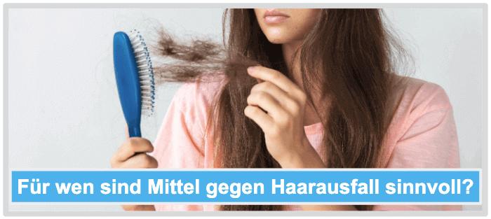 Für wen sind Mittel gegen Haarausfall sinnvoll