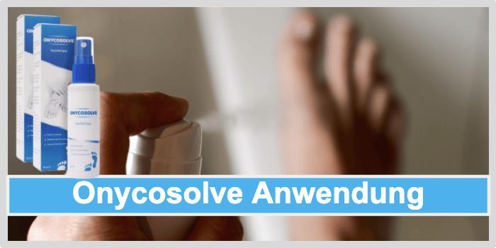 Onycosolve Anwendung