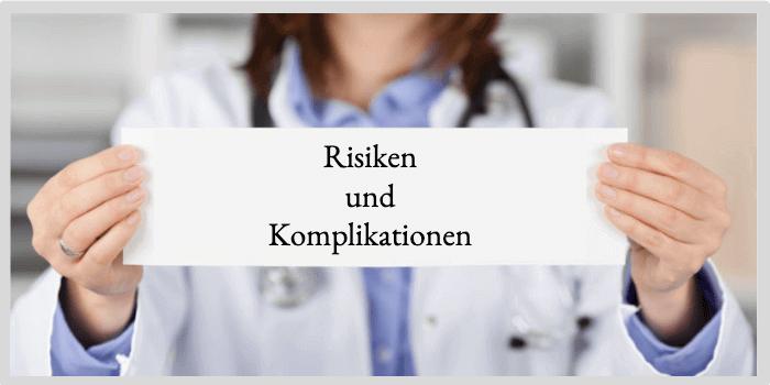 Penisvergrößerung Risiken und Komplikationen