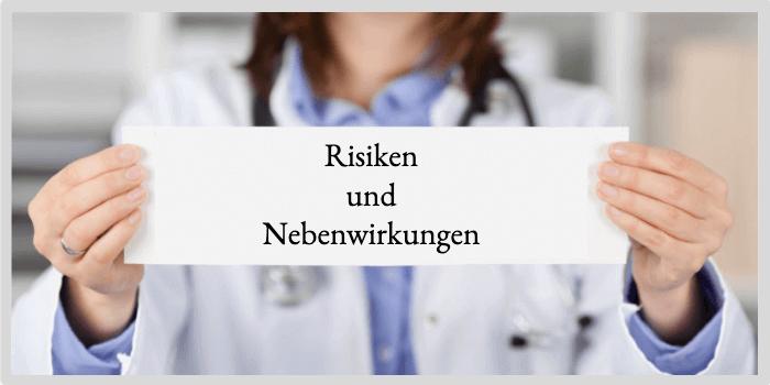 Penisvergrößerung Risiken und Nebenwirkungen
