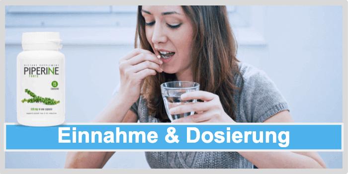 Piperine Forte Einnahme Dosierung