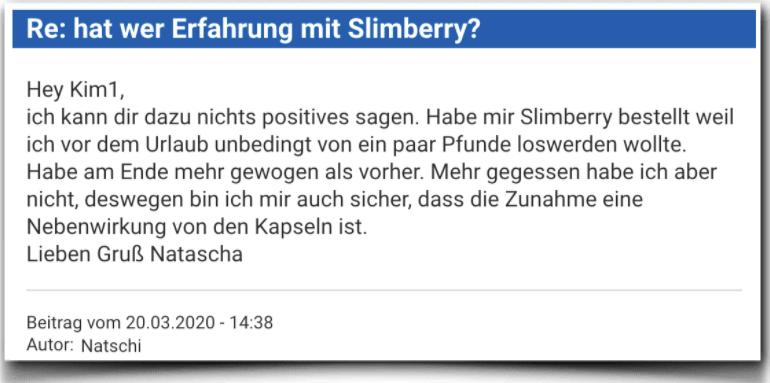 Slimberry Erfahrungsbericht Bewertung Kritik Slimberry