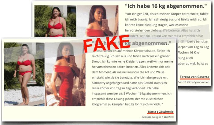 Slimberry Fake Erfahrungen Bewertungen