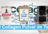 10 Collagen Pulver im Test Abbild