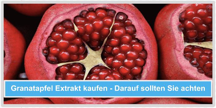 Granatapfel Extrakt kaufen Darauf sollten Sie achten Abbild