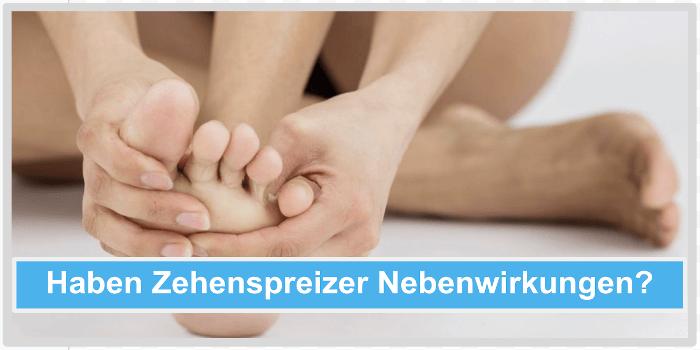 Haben Zehenspreizer Nebenwirkungen? Abbild