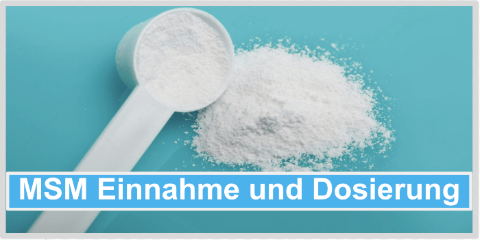 MSM EInnahme und Dosierung Abbild