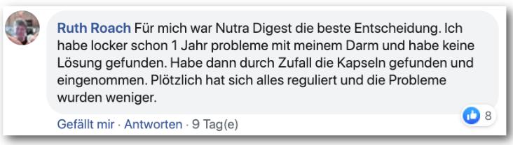 Nutra Digest Erfahrungsbericht Bewertung Kritik