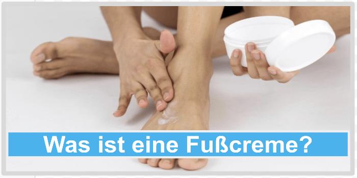 Was ist eine Fußcreme? Abbild