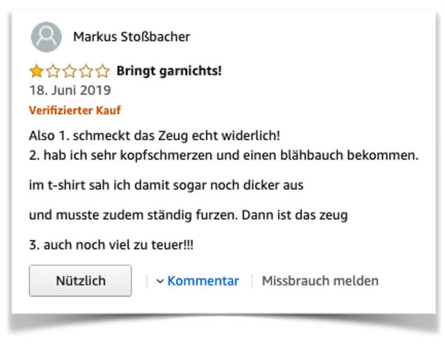 Yokebe Kritik negative Kundenerfahrungen auf Amazon Yokebe 2019-2