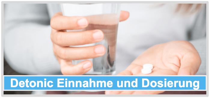 Detonic Einnahme Dosierung