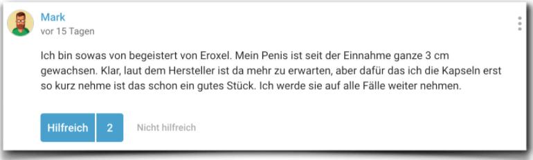 Eroxel Erfahrung Erfahrungsbericht Erfahrungen
