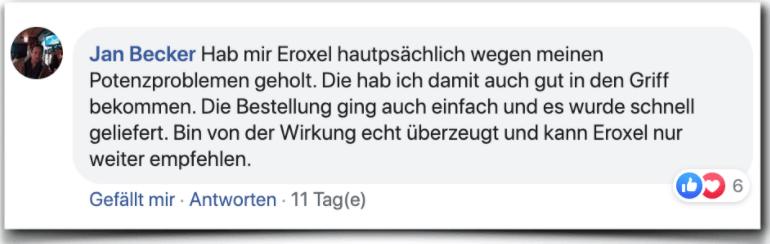 Eroxel Erfahrungsbericht Kritik Bewertung Erfahrungen