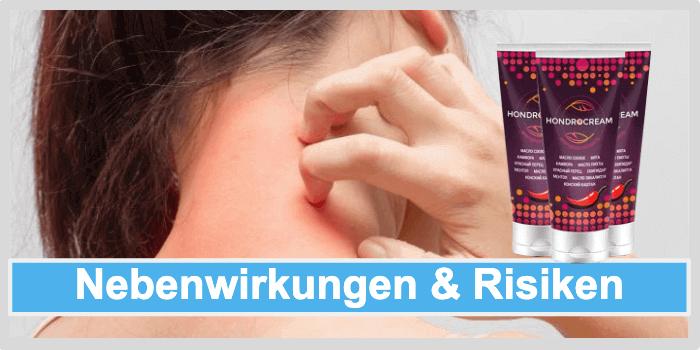 Hondrocream Nebenwirkungen Unverträglichkeiten Risiken