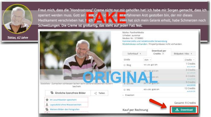 Hondrostrong Fake Erfahrungsberichte