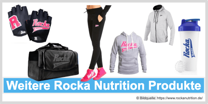 Rocka Nutrition Zubehoer Kleidung