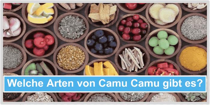 Welche Arten von Camu Camu gibts es Abbild