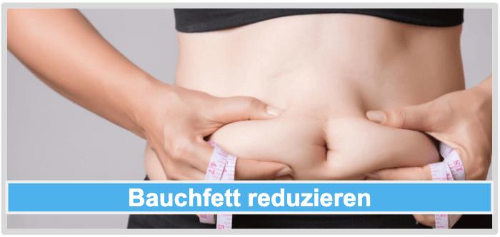 Abnehmen Bauchfett reduzieren