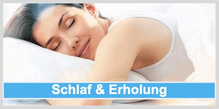 Abnehmen am Bauch durch genuegend Schlaf & Erholung