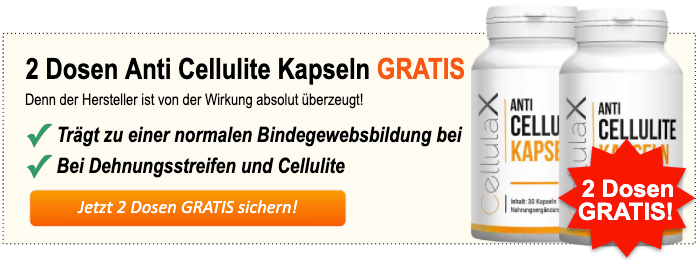 Anti Cellulite Kapseln kaufen Banner