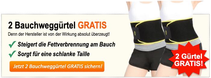 Bauchweggürtel kaufen Banner
