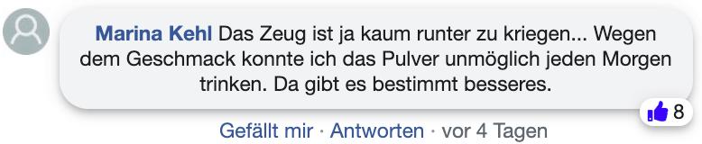 Bentolit Erfahrungsberichte Kritik facebook