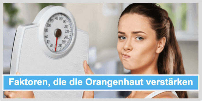 Cellulite Behandlung Orangenhaut Faktoren
