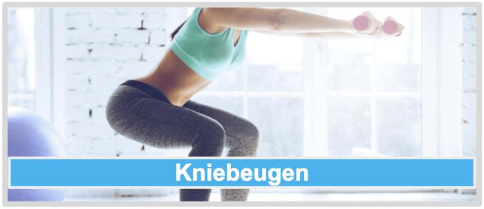 Cellulite Übungen Kniebeugen