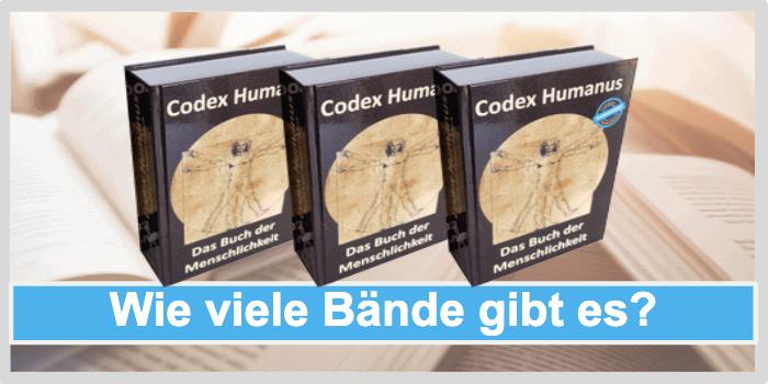 Codex Humanus wie viele bände gibt es