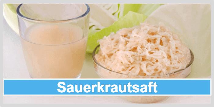 Darmreinigung mit Sauerkrautsaft