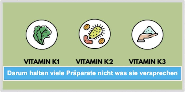Darum halten viele Vitamin K Präparate nicht was sie versprechen