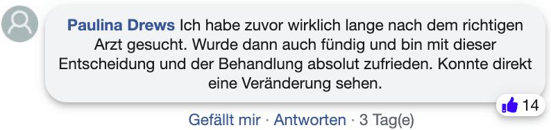 Fett weg Spritze Erfahrungsberichte Erfahrung facebook