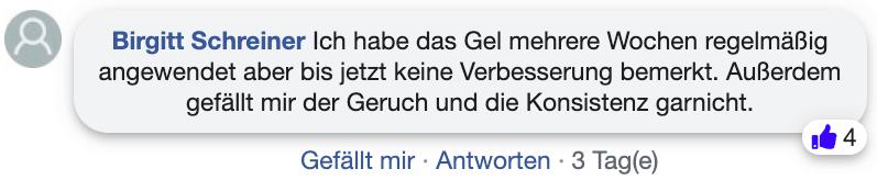 Fungonis Gel Erfahrungsberichte Kritik facebook