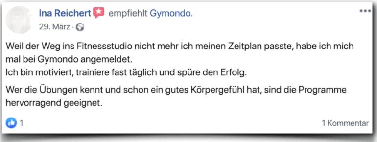Gymondo Erfahrungsbericht Bewertung Kritik Gymondo