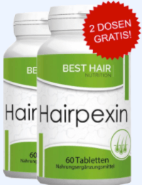 Hairpexin Tabelle