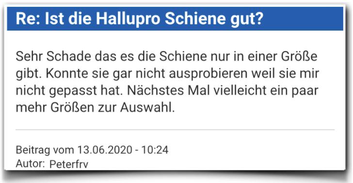 HalluPro Bewertung Erfahrungsbericht