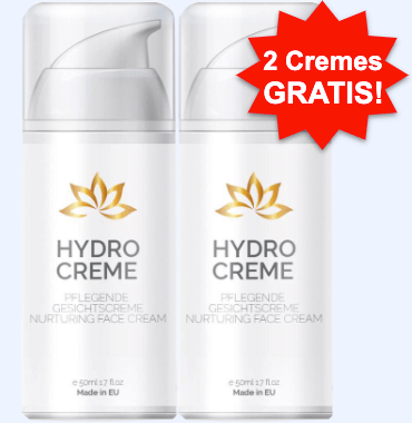 Hydro Creme Tabelle