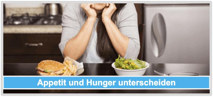 Kein Saettigungsgefuehl Appetit Heisshunger