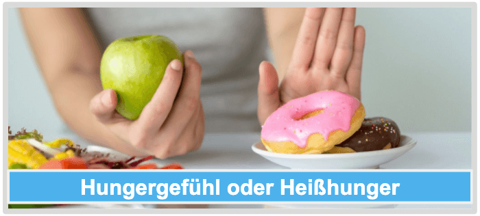 Kein Saettigungsgefuehl Hunger Heisshunger