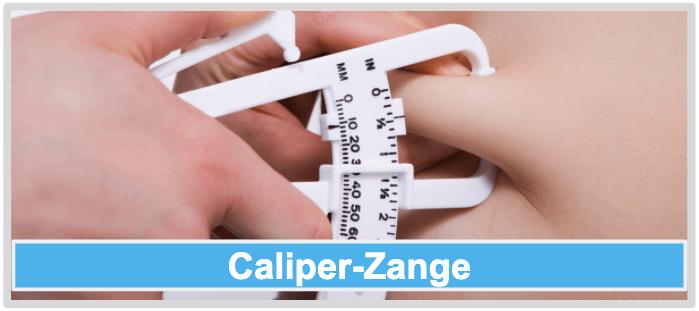 Koerperfett reduzieren Caliper Zange