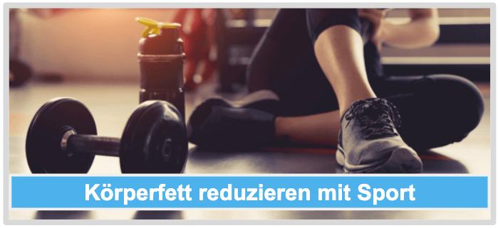 Koerperfett reduzieren mit Sport